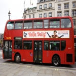 Marketing on Buses in Hill Park 1