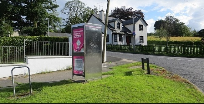 Advertising in Kiosk Shelters in Abercregan